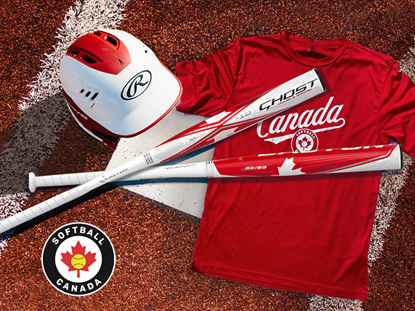 HRS to Donate $25 of each Limited Edition Easton Ghost Canada Bat to Softball Canada
