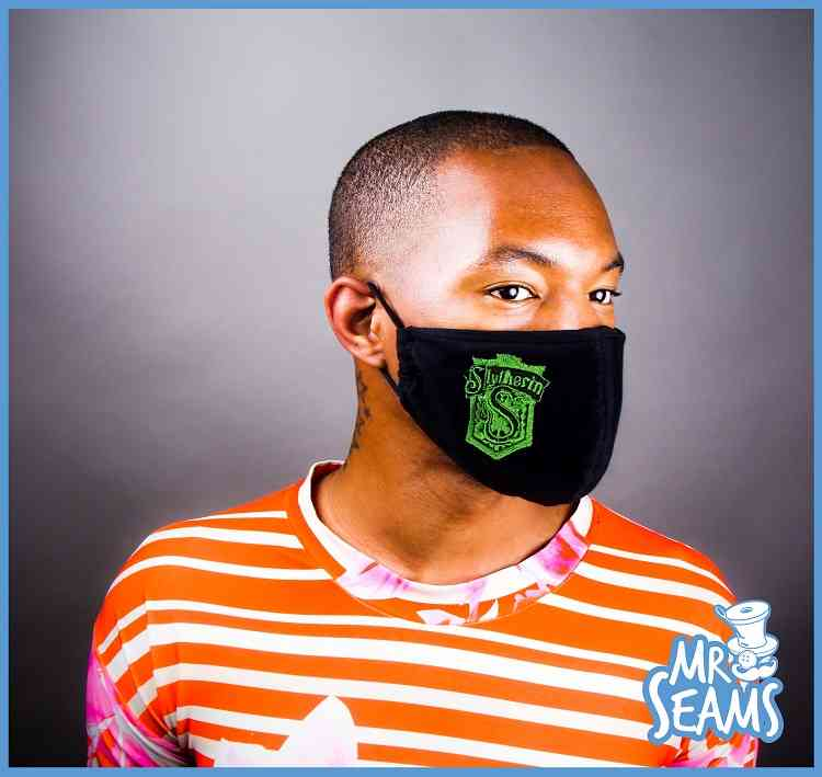 Slytherin House Face Mask
