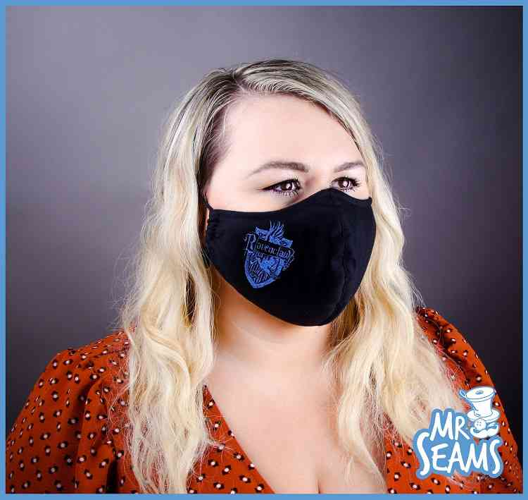Ravenclaw House Face Mask