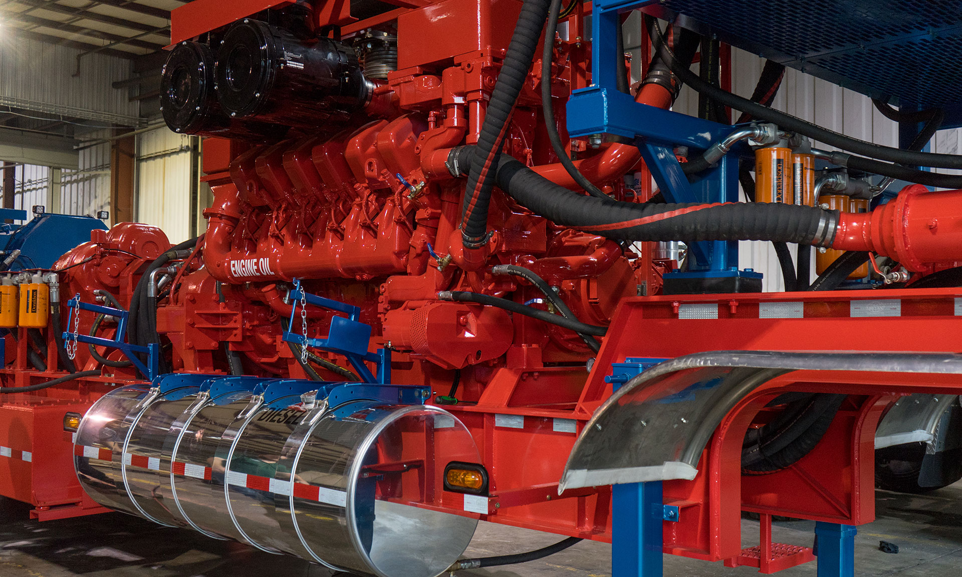 Industrial Engines & Oil Field Service Equipment