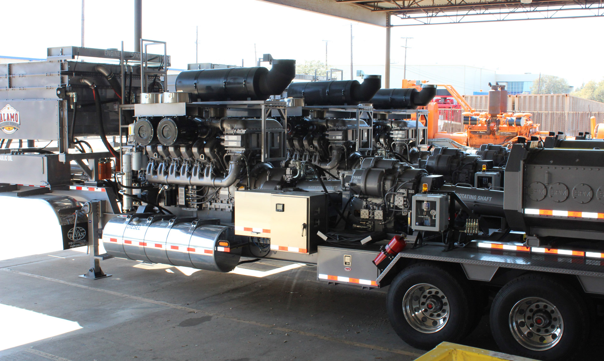 Tier 4 Engine and Service