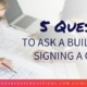 Questions to ask a home renovation expert