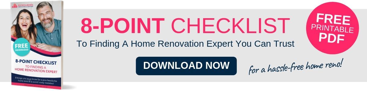 FREE Download: 8 Point Bundaberg Home Renovation Checklist