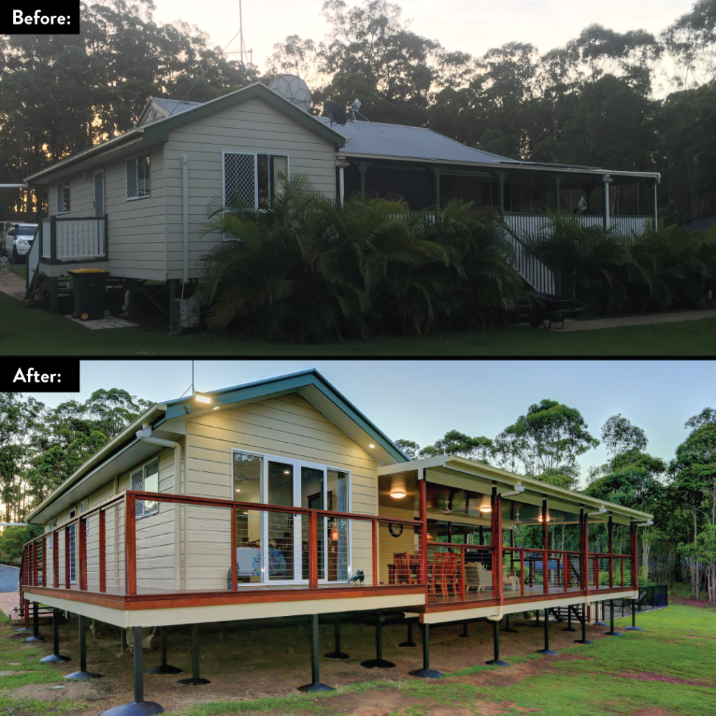 Avondale - Bundaberg Outdoor Renovation