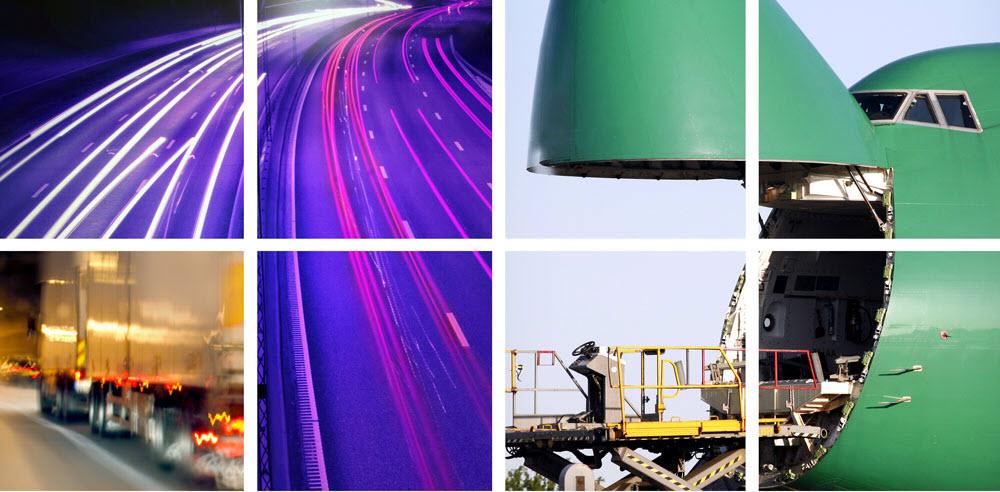 Transportation Collage