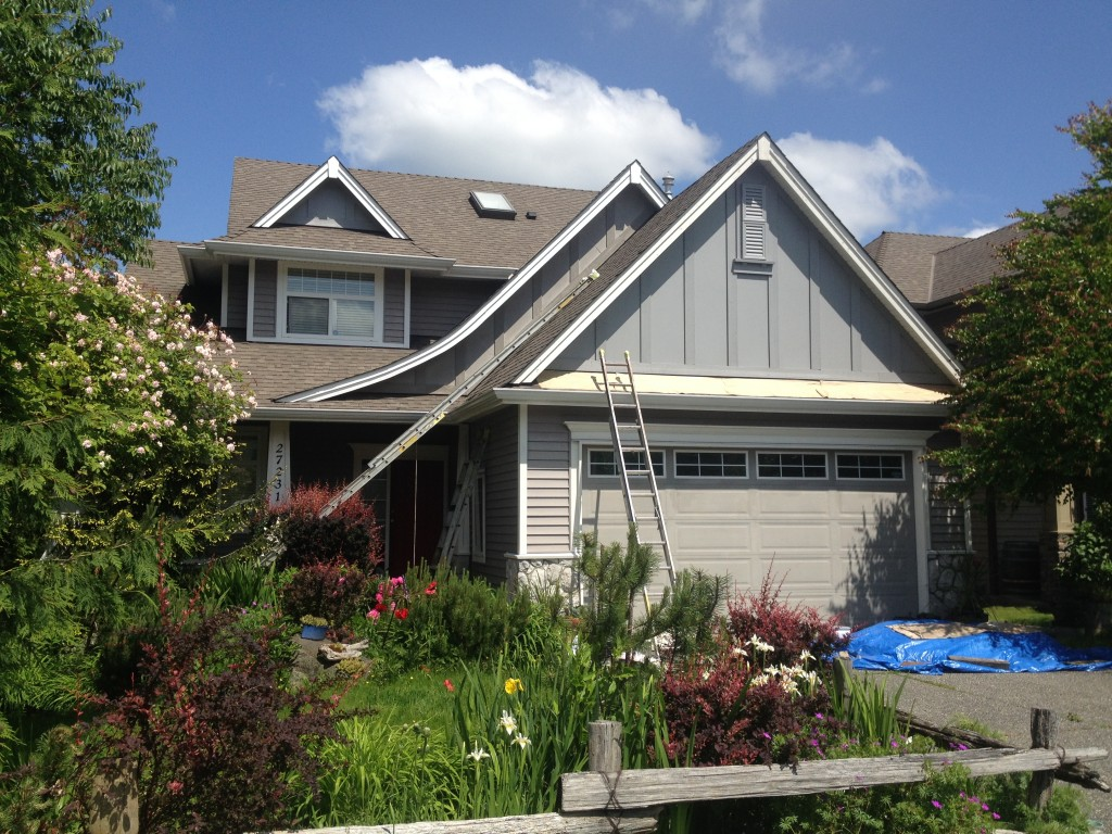 exterior house painting in aldergrove, BC
