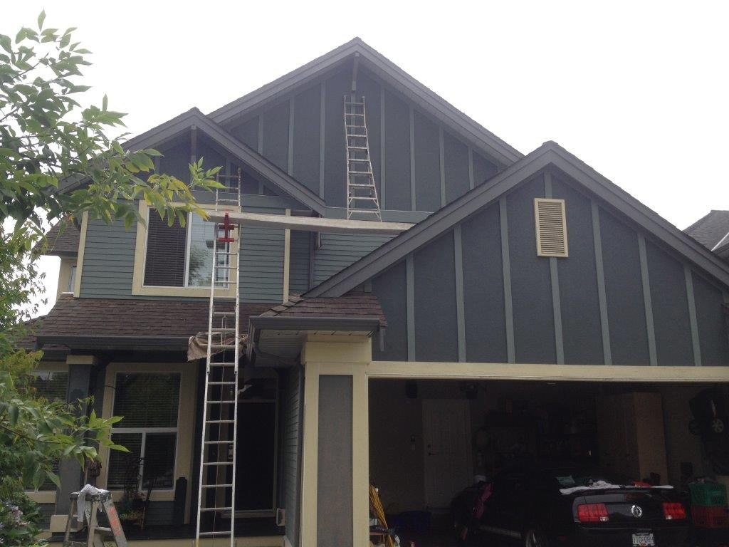 Langley exterior house repaint