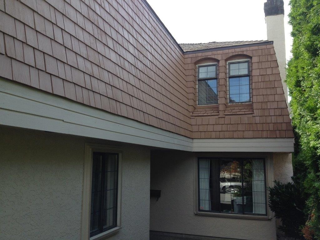 Shingle repaint project in Coquitlam, BC