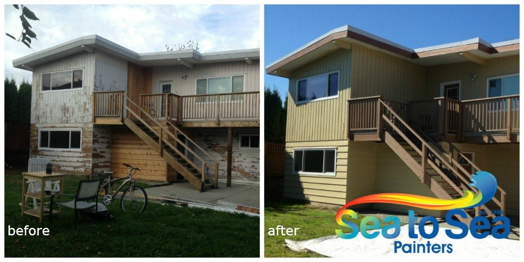 Maple ridge before and after
