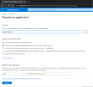 OneDrive ClientId Step5