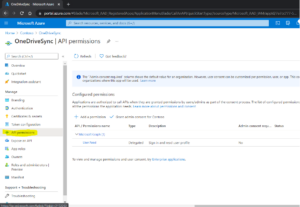 OneDrive ClientId Step 6