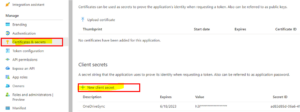 OneDrive ClientId Step 8