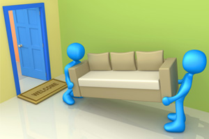 How to Move Large Furniture Without Hurting Your Back