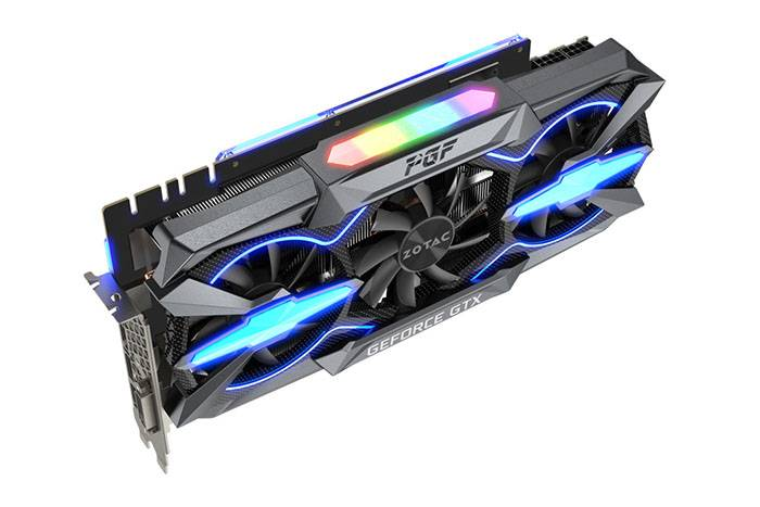 ZOTAC GeForce GTX  Ti PGF side