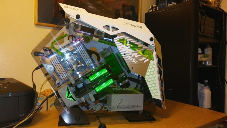 $4200 Gaming PC - Project Sky Green.