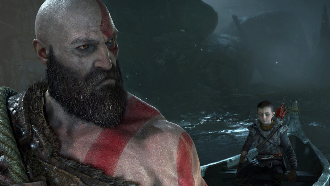 god of war screen  ps us jun