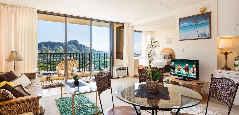Waikiki Banyan – 34th Floor (1Bed)