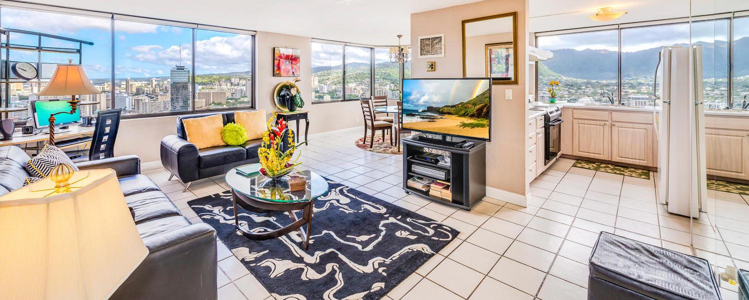 Hawaiian Monarch – Penthouse #104 (2Bed)