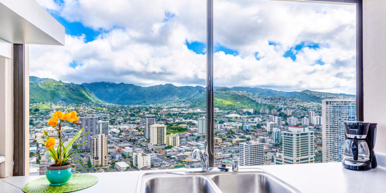 Penthouse104 Waikiki Hawaiian-large-006-Kitchen Sink-1499x1000-72dpi