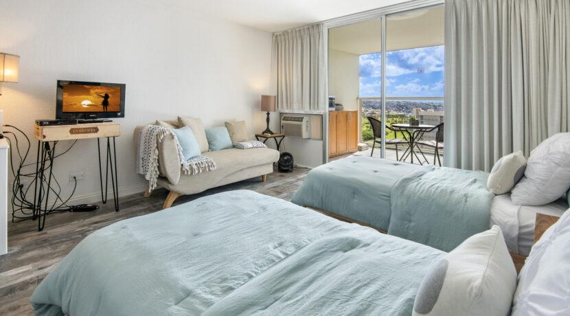 445 Seaside Ave #2719, Honolulu, HI 96815 - Bed1-2 copy