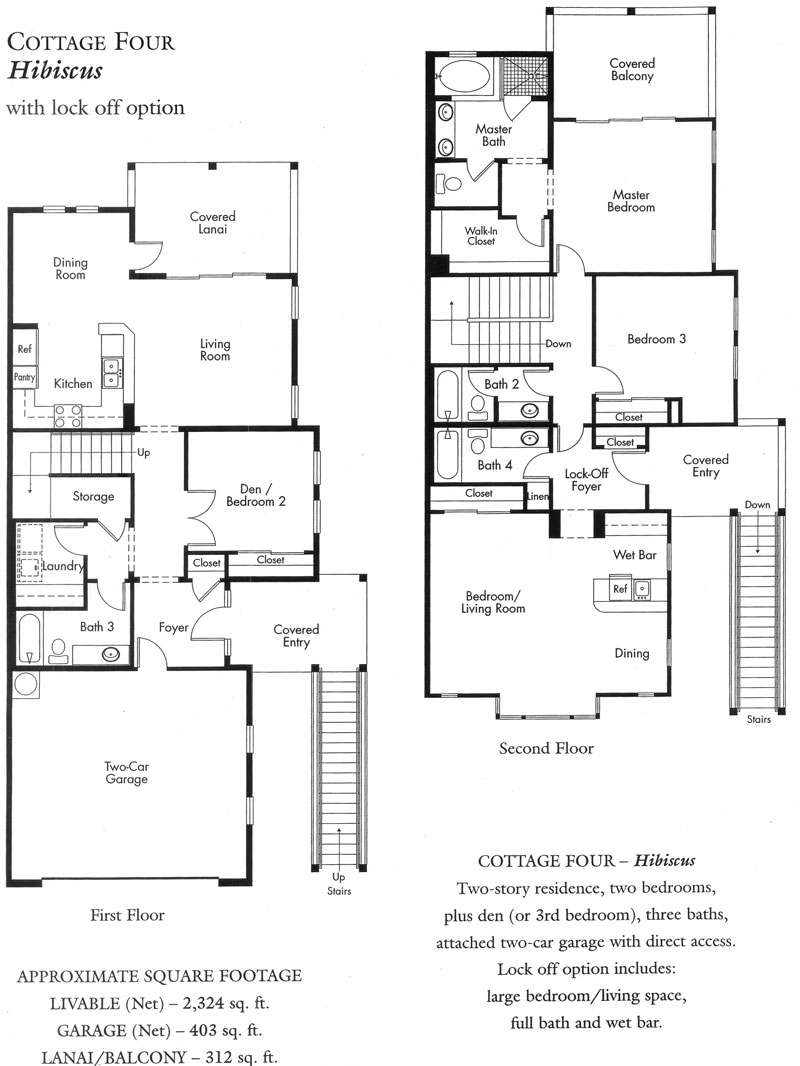 """Hibiscus"" Cottage plan - 1st version"