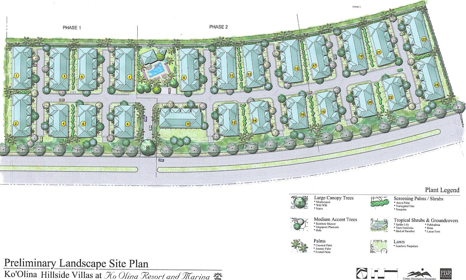 Ko Olina Hillside Villas site map
