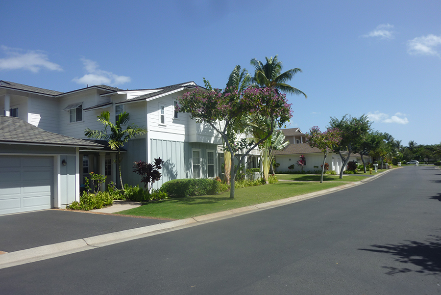 Beautiful lots with spacious roads and ample parking.