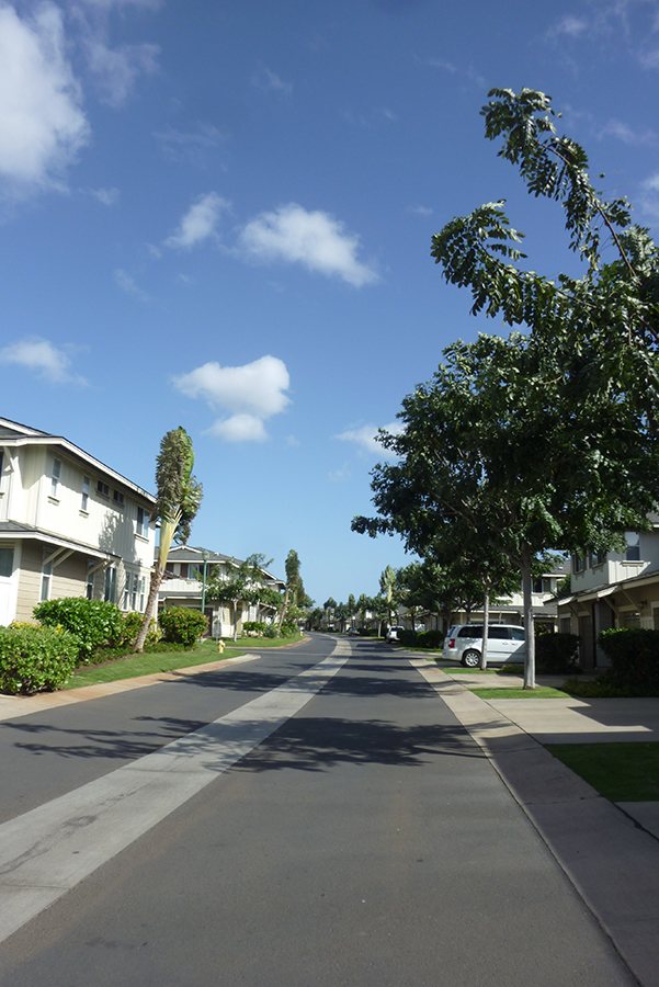 Quiet neighborhood with spacious streets and enough ample parking for guests.