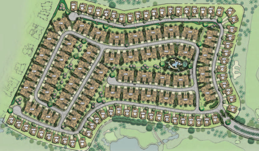 Resident lot plan