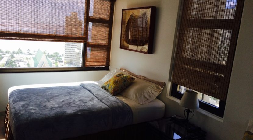 Waikiki Banyan 24th bedroom view