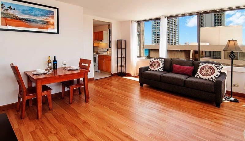 Waikiki Skytower room
