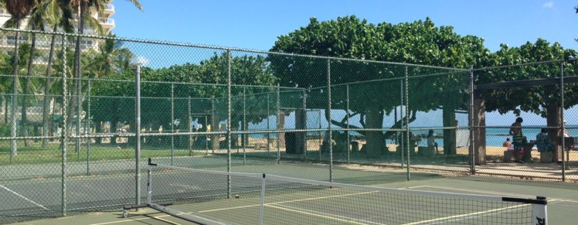 pickleball hawaii beach