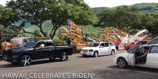 Presidential Elect Biden......Hawaii Celebrates!