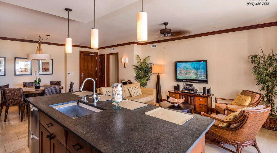 92104 Waialii Pl Kapolei HI-large-017-Kitchen and Living Room-1500x943-72dpi
