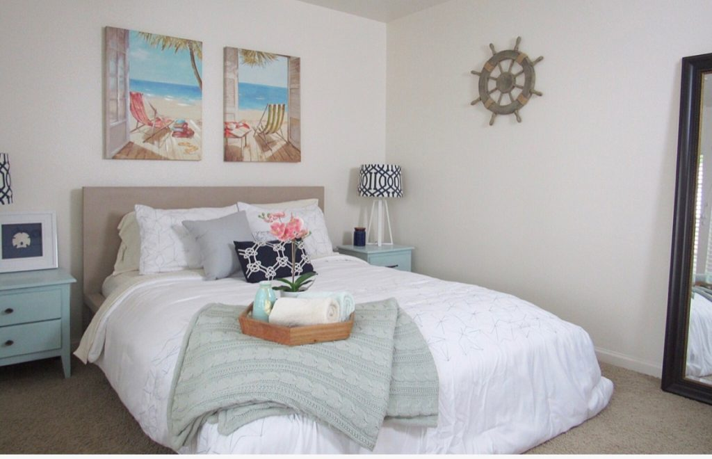 Beach Themed Guest Bedroom