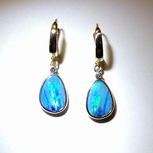 Opal Earrings Two
