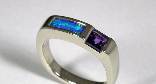 Opal Setting Blue