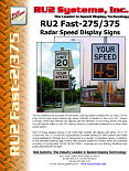 Fast-375 Radar Speed Feedback Sign