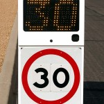Fast-500 japanese portable speed radar sign
