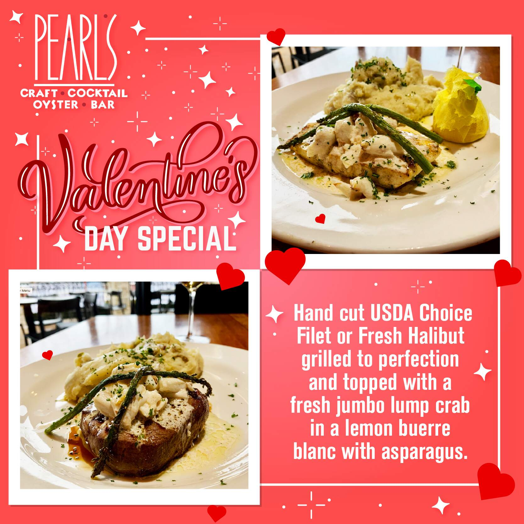 Spread the LOVE with Pearls Restaurant Group!