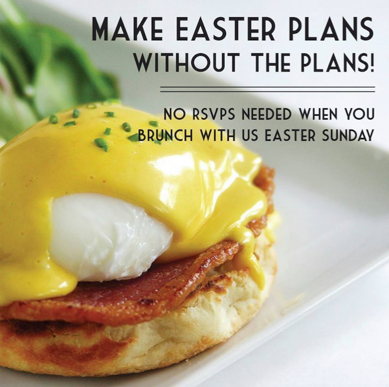 Easter Brunch with Us!