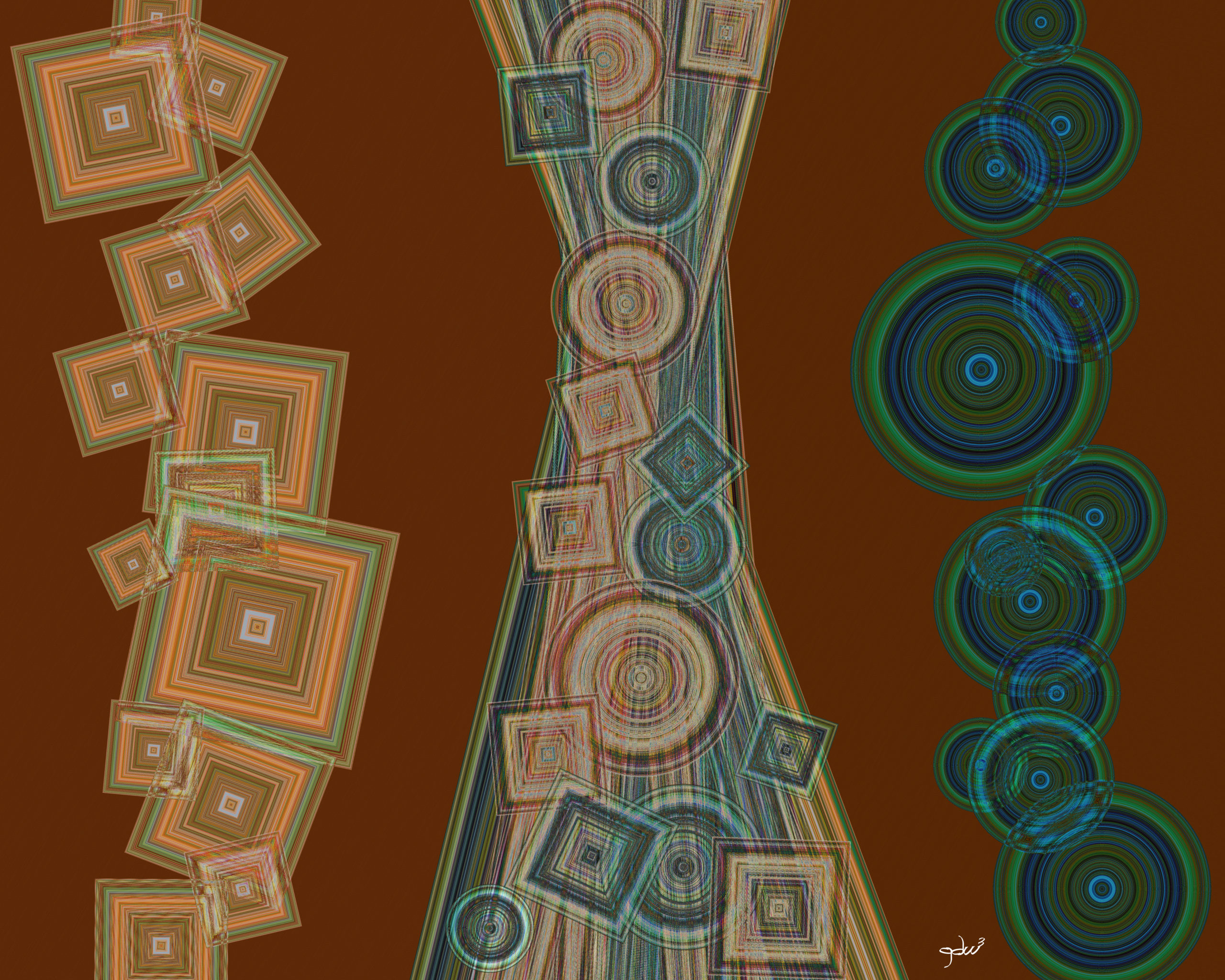 """""""Always Learning #2"""" with signature. Original art by gdw3."""