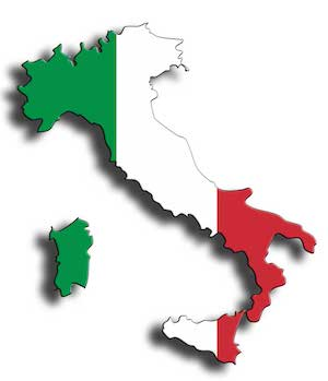 Italy Catamaran Charter Map Main