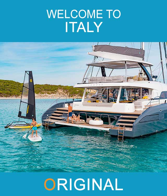 Mobile Catamara Charter Italy Main