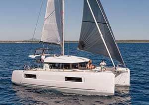 Skippered Catamaran Charter Italy
