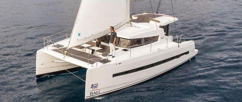 Bali 4.0 Catamaran Charter Italy Main