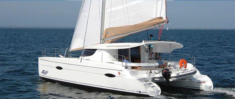 Lipari 41 Catamaran Charter Italy Main
