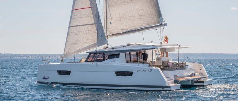 Astrea 42 Catamaran Charter Italy Main