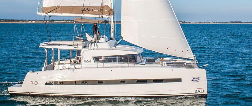 Bali 4.3 Catamaran Charter Italy Main