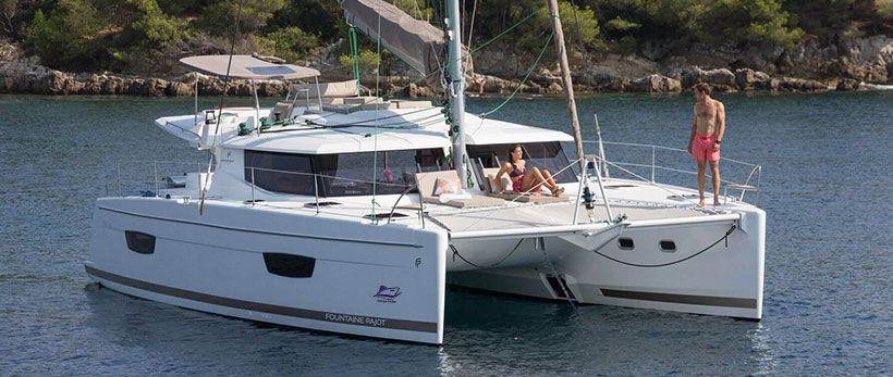 Helia 44 Catamaran Charter Italy Main